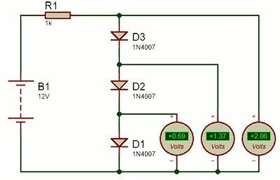 استفاده از led به عنوان دیود زنر در مدارهای الکترونیکی